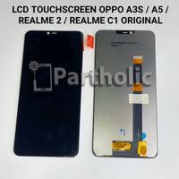 LCD TOUCHSCREEN OPPO A3S / A5 / REALME 2 / C1 ORIGINAL
