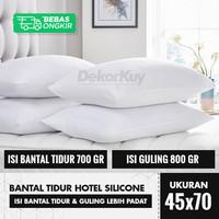 Bantal Tidur Hotel / Guling Silikon 100% Grade A