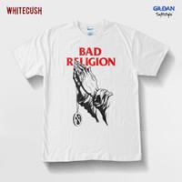 KAOS BAJU TSHIRT BAD RELIGION PRAY MERCHANDISE BY WHITECUSH