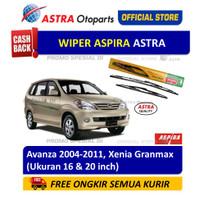 Wiper Blade ASPIRA: Toyota Avanza 2004-2011, Daihatsu Granmax, Xenia