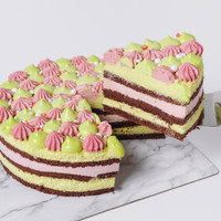 Ruby Pistachio Birthday Cake