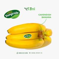 Sunpride Pisang Cavendish 1 Kg (ETANI)