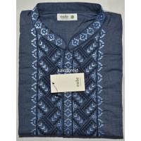 Baju Koko Pria Lengan Pendek COLE Biru COC 60 ORIGINAL