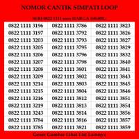 Nomor Cantik Simpati Loop Telkomsel 4G Kartu Perdana Puluh Murah Rapih