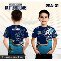Jersey pubg evos baju game anak kaos gamer