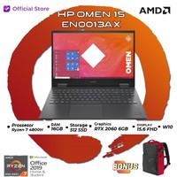 HP OMEN 15 en0013ax   Ryzen 7 4800H 16GB 512SSD RTX2060 6GB W10