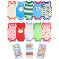 baju romper bayi import laki perempuan 3 - 6 bulan motif random 5 in 1