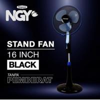 Kipas Angin Berdiri / Stand Fan TIMEZONE Black 16in TZ-16KB