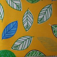 kanvas daun navy n kuning ( 50 cm x 150 cm ) - Kuning