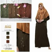 Rabbani Dresslim Ilona Gamis Baju Muslim Wanita Dewasa