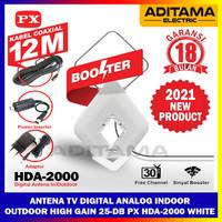 Antena TV Digital Indoor Outdoor Booster PX HDA-2000 Upgrade HDA 5000