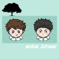 Haikyuu popsocket acrylic - Aoba Johsai Edition