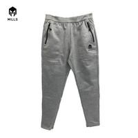 MILLS Celana Training Core Long Pants Thunder 1.0 7005 - Abu-abu, L