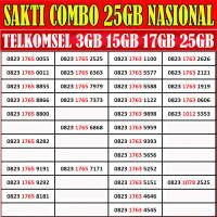 Nomor Cantik Simpati LOOP Sakti Combo 15GB Telkomsel 4G LTE