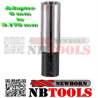 cnc collet adapter 6 mm to 3.175 mm