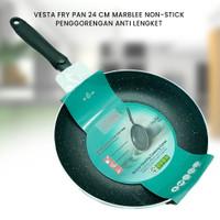 VESTA FRY PAN 24 CM MARBLE NON-STICK - PENGGORENGAN ANTI LENGKET