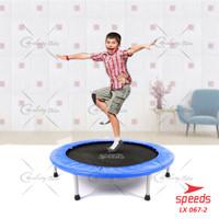 Trampoline Trampolin Alat Lompat Besar 48 inch 122Cm 120Kg 067-02 - Biru