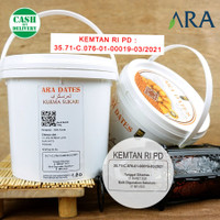 Kurma Sukari Kemasan Ember Ara Dates 750 gr / Al Qossim 850 GR
