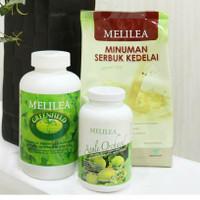 Melilea 3 in 1 Paket Diet / Detox ( GFO + Apple Orchard + Susu Soya )