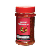 Foodstocks Sambal Teri Merah 100gr - Frozen Food Siap Saji Halal