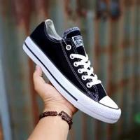 converse hijau / all star chuk tailor / sneakers sepatu pria - Hitam, 42