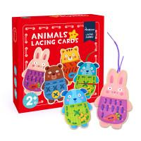 Mideer Animal Lacing Cards / Mainan edukasi menjahit
