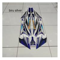 striping Yamaha Scorpio z 225 tahun 2008 biru silver