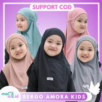 Kerudung Anak Jilbab Hijab Anak Bayi Perempuan Premium Hitam