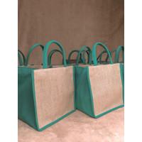 Tas Goodie Bag Souvenir Karung Goni Kanvas Red - Hampers Imlek CNY