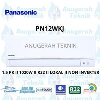 AC SPLIT PANASONIC 1.5 PK 1.5 PK R32 STANDAR NON INVERTER - PN12WKJ