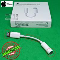 Adapter iPhone 7 8 X 3.5mm Audio AUX ke Earphone Jack 5pin Original