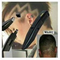 Cliper Alat Cukur Tatto/Ukir Rambut Kepala WAHL Stylique Model 9808