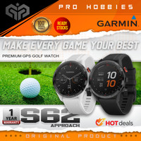 Garmin Approach S62 Sport GPS Golf Smartwatch S 62 Original