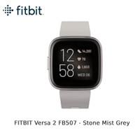 FITBIT Versa 2 FB507 [FB507GYSR-FRCJK] - Stone Mist Grey