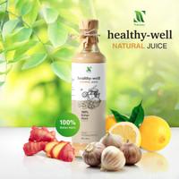 Healthy Well Natural Juice - Jus Bawang Putih Tunggal Lemon Madu Hutan