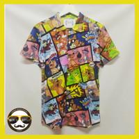 Kemeja Hawaii Hawaiian Shirt Kemeja Printing Unisex SP 06 - M