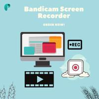 Bandicam Screen Recorder No Watermark, Rekam Layar Video
