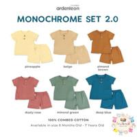 ARDENLEON Monochrome Set - Baju set anak