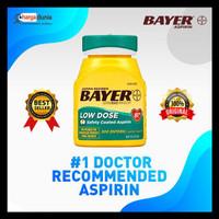 Obat Bayer Aspirin Regimen, Low Dose (81 mg), Enteric Coated, 300