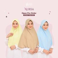 Kerudung Azkia hijab instan pad antem bertali NURISA TERBARU