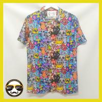 Kemeja Hawaii Hawaiian Shirt Kemeja Printing Unisex SP 08