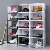 Sneaker Box | Kotak Sepatu | Box Sepatu | Drop Side Shoe Box Garage LT - Transparan
