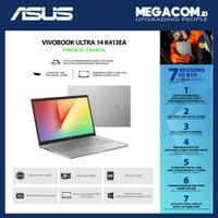 Asus K413EA-AM553IPS Silver [i5-1135G7|RAM 8GB|SSD 512GB|Win|OHS2019]