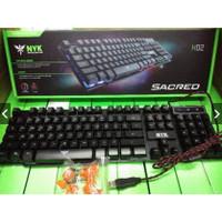 keyboard gaming nyk sacred k02 promo