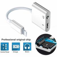 Multi Aux Adaptor Splitter Audio&Charger Lighting Iphone Converter