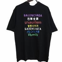 Balenciaga Languages Tshirt (1:1 GO Quality)