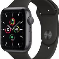 Apple Watch Series 5 40mm Space Gray Aluminium Case Black Sport Band