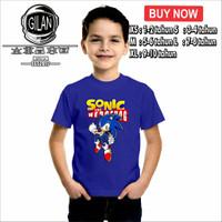 Kaos Baju Anak SONIC THE HEDGEHOG SEGA Kaos Game - Gilan