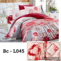 Promo Bedcover Set + Sprei Ukuran King size 180X200 Natasha