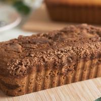 Mini Gluten Free Vegan Apple Streusel Crumble Cake